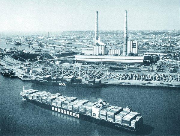 Centrale Thermique près du Havre