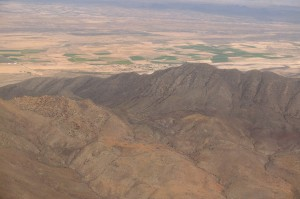 Désert entre Mexico et Chihuahua