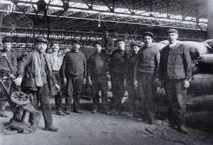 Salariés des ACH années 1900
