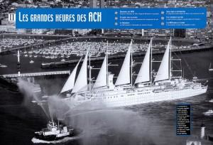 Paquebot à voile au Havre